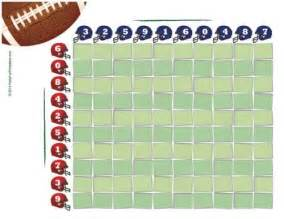 Office Football Pool Arrested Free Printable Bowl Squares For And