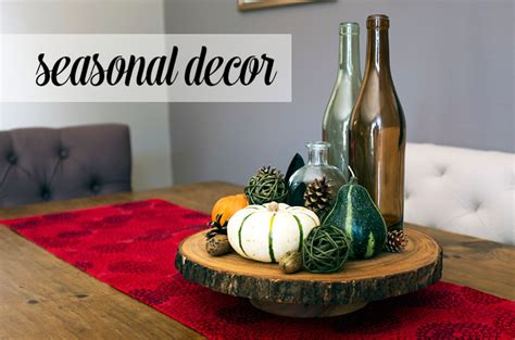 Seasonal Decorations by How To Seasonally Update Your D 233 Cor