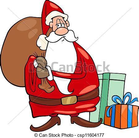 imagenes de santa claus caricatura ilustraciones vectoriales de santa claus navidad