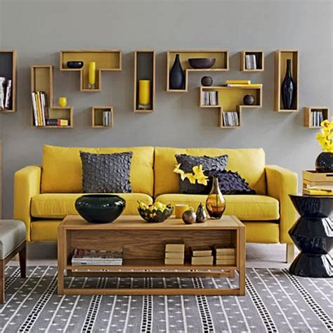 yellow and gray room yellow gray living room design ideas