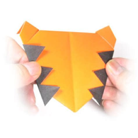 Easy Origami Tiger - easy origami tiger 28 images origami origami tiger