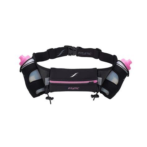 hydration running fitletic hydration running belt 16oz pink zipper l xl