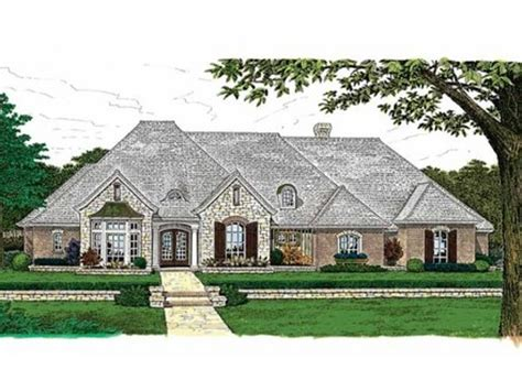small french country house plans one story house plans with porch one story house plans