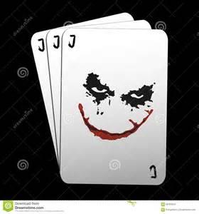 joker cards stock illustration image 58764010
