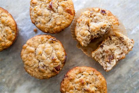 muffin recipes oatmeal muffins with raisins dates and walnuts recipe