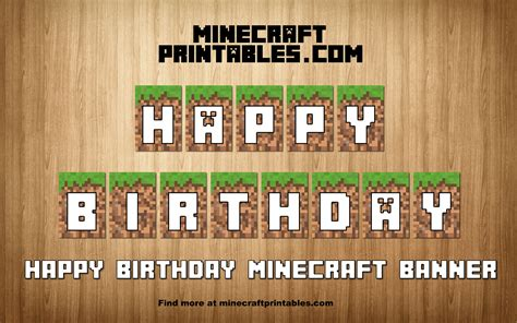 Banner Letters Minecraft