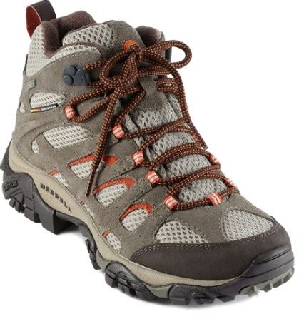 rei hiking shoes merrell moab mid waterproof hiking boots s at rei