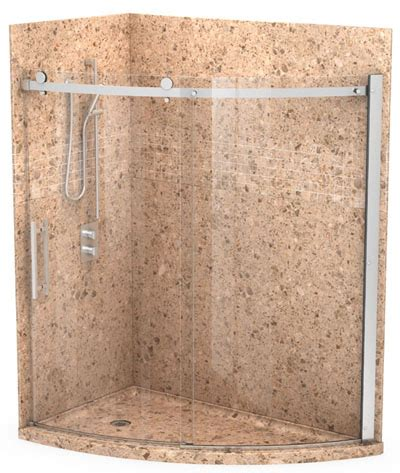brown granite shower wall panels granite shower surrounds