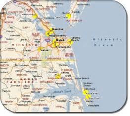 virginia va did you get a map of virginia
