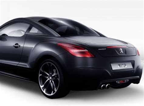 peugeot rcz black peugeot rcz black yearling