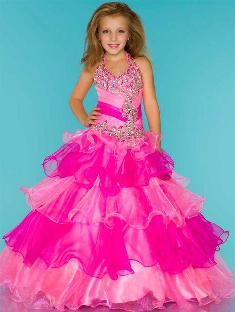 little girl beauty pageant dresses little girls pageant dresses sugar 81807s little girl s