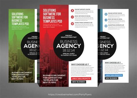 62 best flyers images on pinterest business flyer