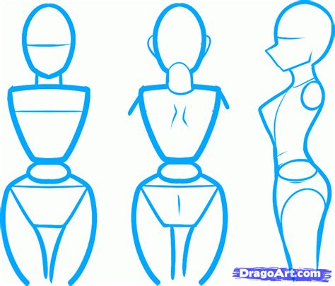 how to draw bodies draw an anime step by step drawing sheets added by