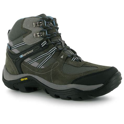 best walking boots karrimor aspen mid top walking boots womens grey blue