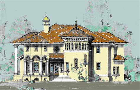 Mediterranean Villa House Plans by Buat Testing Doang Mediterranean Villa Floor Plan