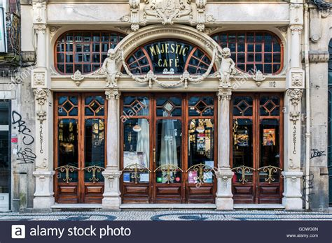 cafe porto cafe majestic porto portugal stock photo royalty free