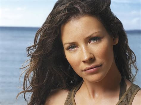 Evangeline Lilly Tries To Look Angry by The No Make Up Evangeline Lilly Make Up Tutorial
