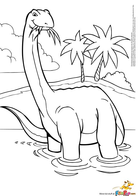 colored coloring pages baby brontosaurus coloring page coloring pages