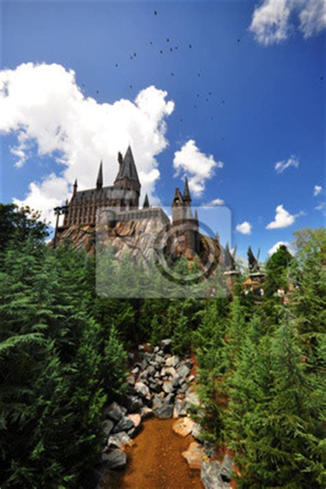 hogwarts wall mural wall mural hogwarts school of witchcraft and wizardry