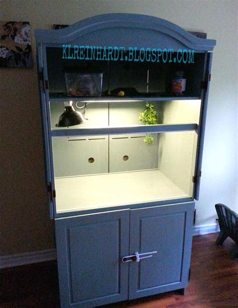 armoire terrarium armoire bearded cage petdiys