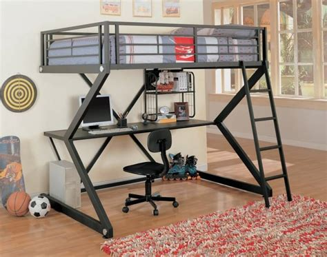 Bunk Bed With Computer Desk 25 Awesome Bunk Beds With Desks For