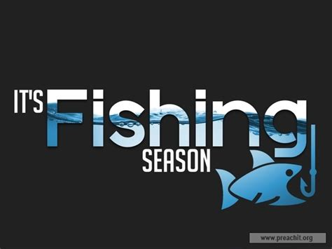 sermon  title  fishing season