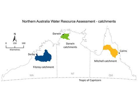 map northern australia northern australia water resource assessment csiro
