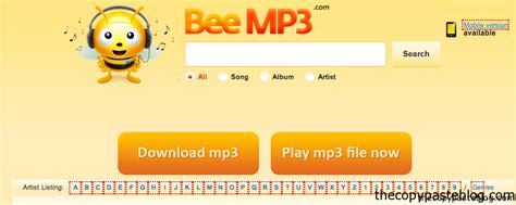 beemp3 mobile free to mp3 songs mobile