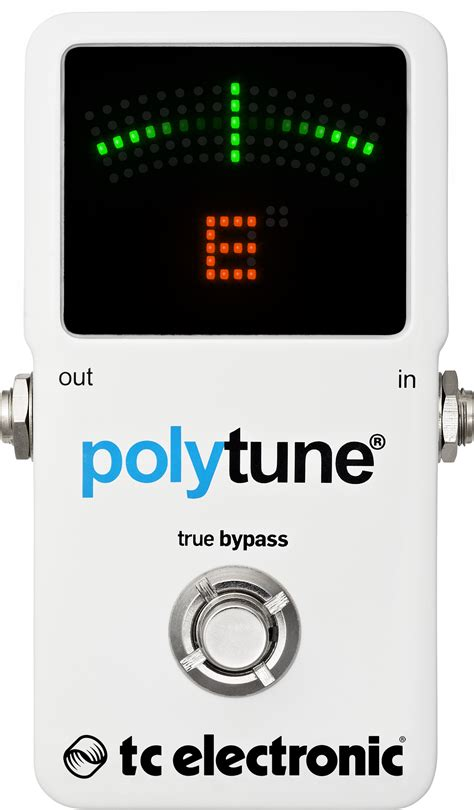 Tc Electronic Polytune2 by Polytune 2 Poly Chromatic Tuner Tc Electronic