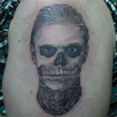 tattoo girl on american horror story american horror story tattoo tattoos pinterest