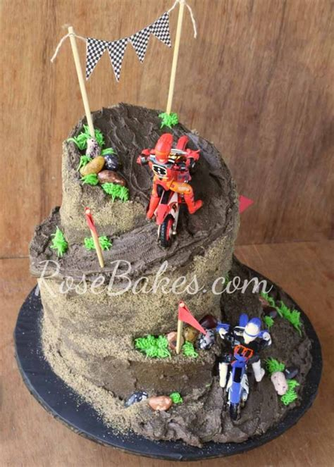motocross bike cake dirt bike racing cake rose bakes