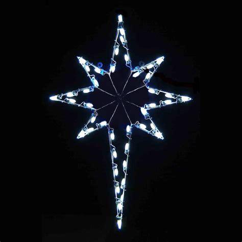 led star of bethlehem 4 8 white
