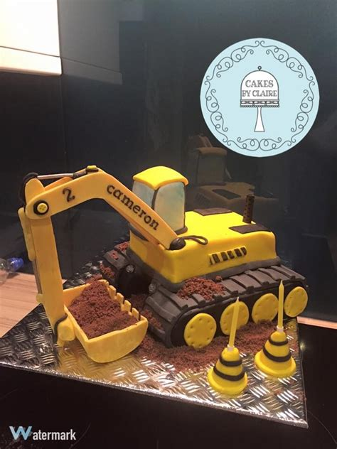 digger cake template best 25 excavator cake ideas on construction