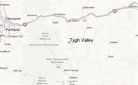 Valley Weather Records Tygh Valley Weather Station Record Historical Weather For Tygh Valley Oregon