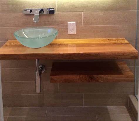 Wooden Bathroom Countertops by Ash Wood Bathroom Countertop Waight Designs