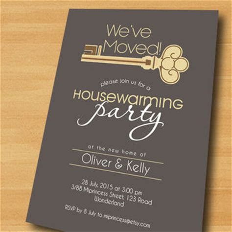 walmart house key designs housewarming invitation new house key from miprincess on etsy