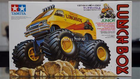 Tamiya Mini 4wd Bigfoot Wildsaurus jual tamiya mini 4wd lunch box jr bigfoot 17003