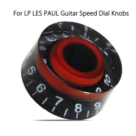Les Paul Speed Knobs by Black Electronic Guitar Speed Knobs Knobs