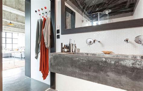 industrial bathroom sink modern industrial loft in hong kong by mass operations