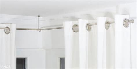 gardinensysteme decke vorhangstange und gardinenstangen aus edelstahl