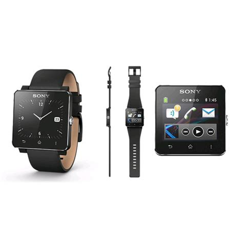 Hp Sony Smartwatch 2 Sony Smartwatch 2 Sw2 Compatible Con Android 1275 2741 1275 4458 Expansys Mexico