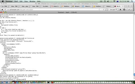 tutorial xml y dtd perl xml and dtd validate primer tutorial robert