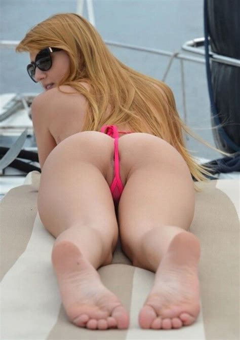 Asshole Behind Thong G String Asses Photo
