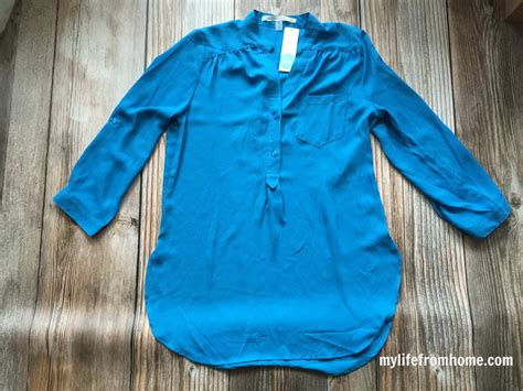 Ammy Blouse stitch fix how i styled it my from home