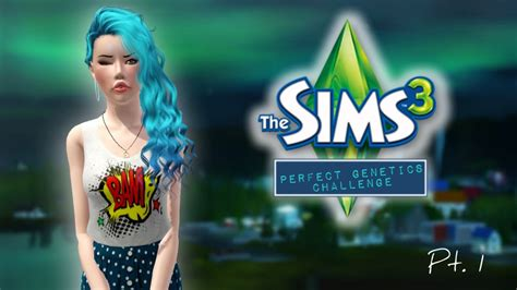 sims 3 challenges the sims 3 genetics challenge part 1 meet