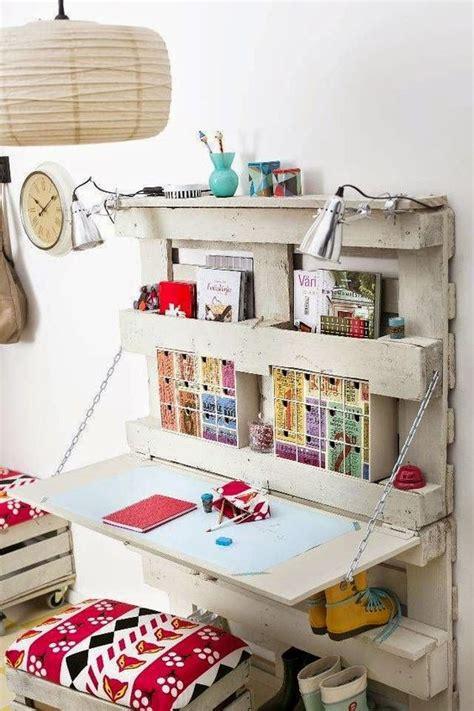 fai da te scrivania scrivania fai da te con pallet 20 idee creative da scoprire