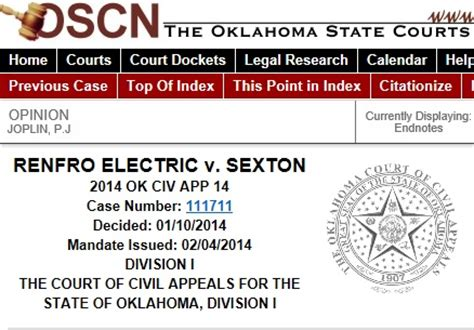 Oscn Oklahoma Search Payment Oscn Net Oscn Net Oklahoma Court Records