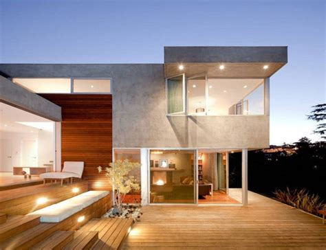 glass and concrete house modern concrete wood and glass home in la redesdale