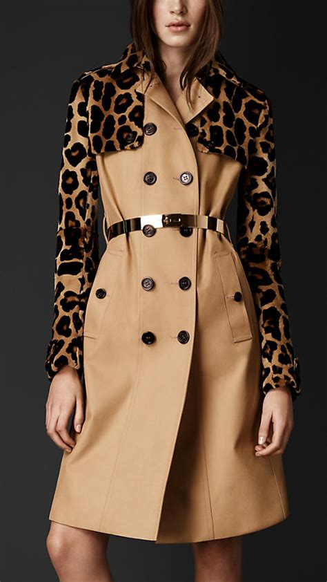 Found A Saucy Leopard Trench Coat by Burberry Prorsum Embellished Coats Guide From Fall Winter