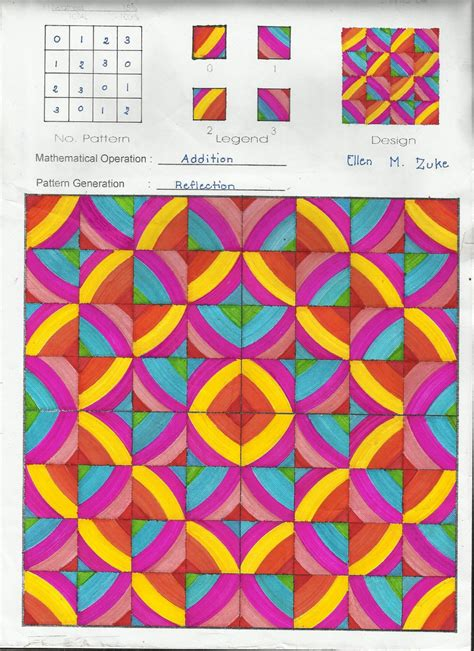 Modulo Art Pattern Square Grid | modulo art modulo art our lady of mount carmel learning